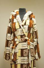 Мужской халат зима