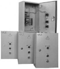 Control and protection of electrical equipment
