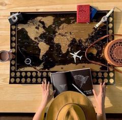 Скретч карта світу|