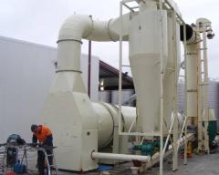 Drying installation