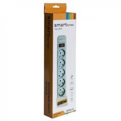 Сетевой фильтр Smart Fortec 5 розеток 1,8 метра