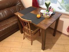 Деревянный обеденный стол  700 х 1000 мм