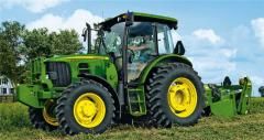 Тракторы John Deere серии 6D