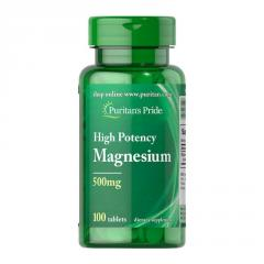 Витамины Puritan's Pride High Potency Magnesium