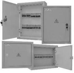 Cabinets (panels) of alternating and direct current
