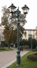 Decorative streetlights