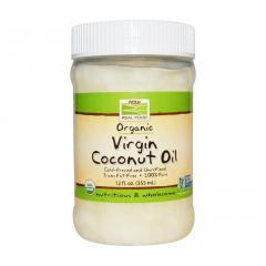 Органическое кокосовое масло Now Foods Foods