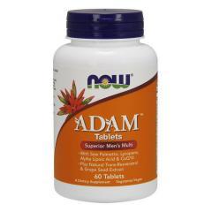 Витамины для мужчин Now Foods Foods Adam (60 таб)