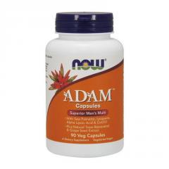Витамины для мужчин Now Foods Foods Adam (90 вег.