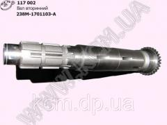 Вал вторинний 238М-1701105 ЯМЗ