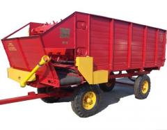 KTU-10A cattlefeeder. Equipment for production of