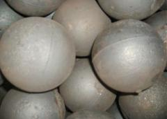 The grinding spheres steel f 80 mm under the order