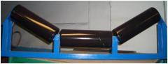 Rolikoopora for installation on belt conveyers