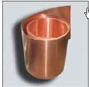 Tape copper.