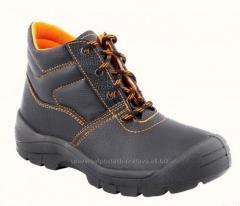 Ботинки Стандарт, кожаные, черные, VX, с