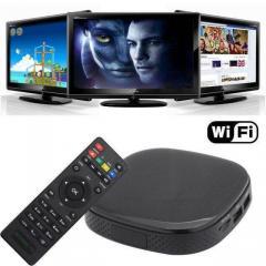 Тюнер SMART TV 758 | цифровой ресивер | цифровая
