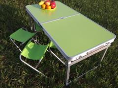Стол алюминиевый чемодан для пикника со...
