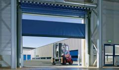 High-speed flexible rolled gate of DITEC