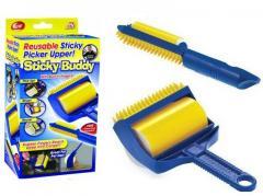 Щетка валик для чистки одежды ковра Sticky Buddy |