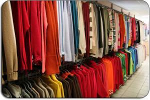 Clothing of large sizes