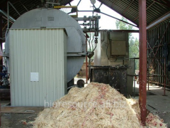 The heatgenerator on waste. Recycling of poultry