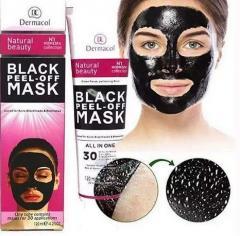 Черная маска для лица Dermacool | Маска для лица