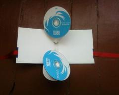 Коробки ручной работы на CD/DVD