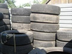 Tires and tires R20 h240---370 SECOND-HAND
