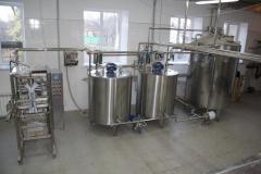 Pass milk processing plants