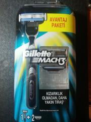 "Станок для бритья Gillette ""Mach3"" 2 касеты"
