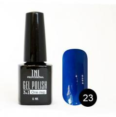 Однофазный гель-лак TNL, № 23 (синий), 6мл