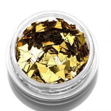 Дизайн Треугольники TNL - Золотые