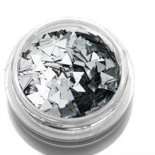 Дизайн Треугольники TNL - серебряные