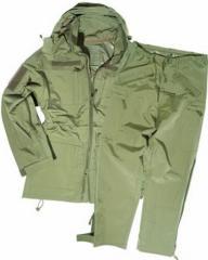 Влагозащитный мембранный костюм оливковый