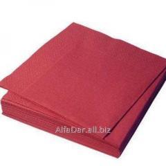 Салфетка 33х33 (2сл\20лис) ДАРПАК красная
