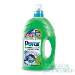 Средство гель для стирки POROX 4, 3 литра