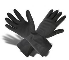 Gloves acid and alkali resistant KShchS