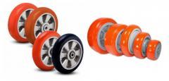 Восстановление контактного слоя валов,колес,роликов