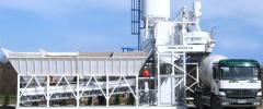 Mobile concrete plant Simi BSA 30