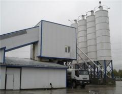 Konteyner çeşitli sabit beton fabrikaları