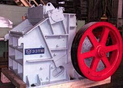 Crushers shchekovy modifications of ShchDP 12h15-F