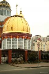 Domes for Orthodox churches from the...