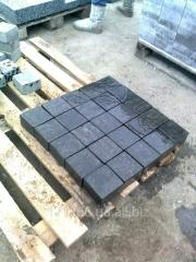 The stone blocks is basalt