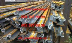 Crane rails: KR-70; KR-80; KR-100; KR-120; KR-140