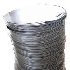 Алюминиевый круг  диаметр 8 марка стали АД1