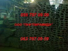 Channel of UPE 80, 100, 120, 140 measure of 12 m,