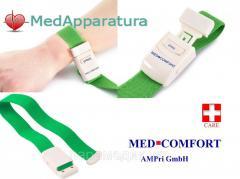 Rubber hemostatic medical plaits