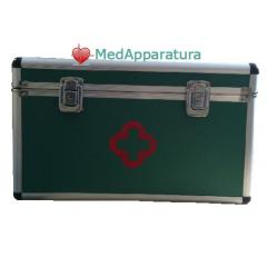 Boxes and medical bags