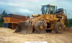 Zapchasny parts on the bulldozer shantuy