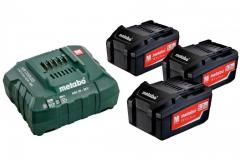 Комплект аккумуляторных батарей Metabo 3*5.2...